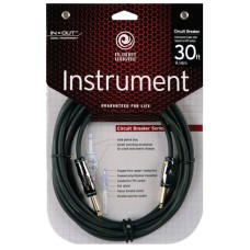 Planet Waves Circuit Breaker Series Instrument Cable - 30ft (9m)