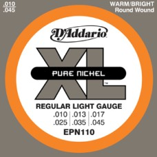 D'Addario XL Pure Nickel Regular Light Gauge Guitar Strings