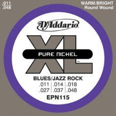 D'Addario XL Pure Nickel Blues/Jazz Rock Guitar Strings
